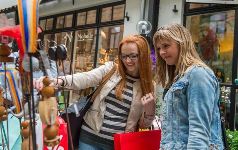 Flensborg gågade åbningstider butikker Butikker
