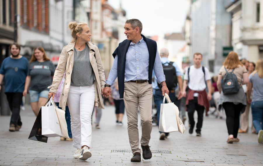 Gågade åbningstider flensborg butikker Flensburg
