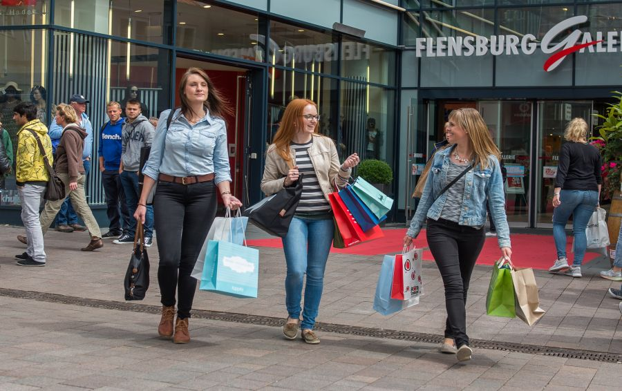 Åbningstider gågade butikker flensborg Se Vejle